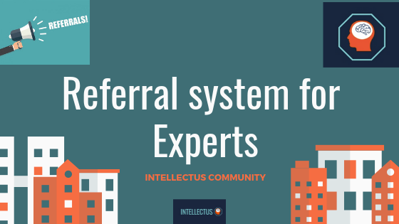 Referral system for Experts of Intellectus